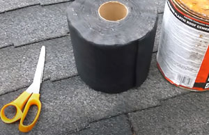 materials for a DIY asphalt shingle roof repair