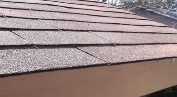 inspecting an asphalt shingle roof in Tucson